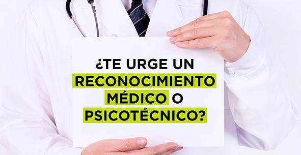 En nuestra clínica de Santa Pola realizados todos los psicotécnicos y reconocimientos médicos que necesites.